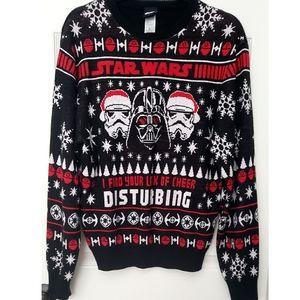 Star Wars Darth Vader Disturbing Ugly Sweater